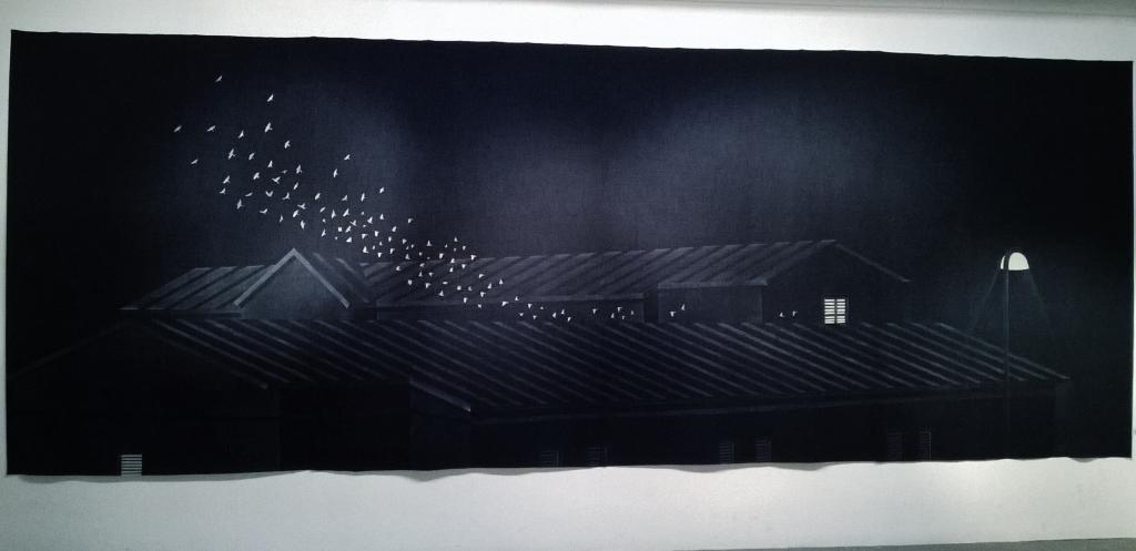 """Qixi bridge from Kumla Prison"" Arsenale Nord Venice Biennale 2015"